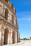 Anfiteatro no EL Djem, Tunísia Foto de Stock Royalty Free