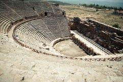 Anfiteatro romano Imágenes de archivo libres de regalías
