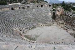 Anfiteatro romano Imagenes de archivo