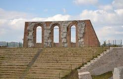 Anfiteatro romano Imagen de archivo