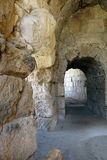 Anfiteatro romano, Beit Guvrin, Israele fotografie stock libere da diritti