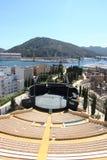 Anfiteatro romano a Cartagine, regione Murcia, Spagna Fotografia Stock