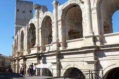 Anfiteatro romano de Arles, França imagens de stock royalty free