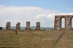 Anfiteatro romano - Italia Immagini Stock Libere da Diritti