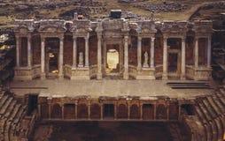 Anfiteatro Turquía de Hierapolis Imágenes de archivo libres de regalías