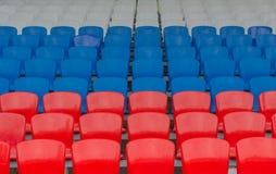 anfiteatro Vermelho-azul-branco Imagem de Stock