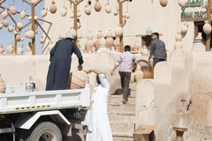 Anfore in Nizwa Fotografie Stock