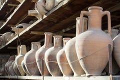 Anfore Pompéi image libre de droits