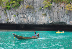 Ang皮带国家海洋公园酸值Samui 库存照片