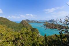 Ang皮带群岛  库存照片
