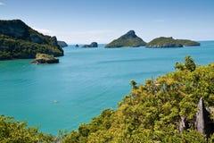 ang美丽的海岛泰国皮带 免版税库存图片