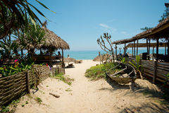Ang Bang Beach Hoi An, Vietnam Royaltyfria Bilder