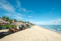 Ang Bang Beach, Hoi An, Vietnam royalty free stock image