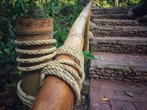ANG di nylon della corda Immagini Stock Libere da Diritti