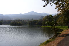 Ang Kaew Reservoir Images stock