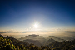 ANG Khang, βουνό Doi ANG Khang Στοκ Εικόνες