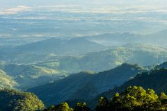 ANG Khang, βουνό ANG Khang, mai Chiang, Ταϊλάνδη Doi Στοκ φωτογραφία με δικαίωμα ελεύθερης χρήσης