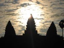 Ang Kor Wat,柬埔寨 免版税库存照片