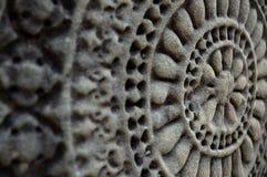 Ang Kor Wat wall carvings. Distinct Ang Kor Wat wall carvings Royalty Free Stock Photography