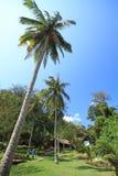 Ang-läderrem öarna i Thailand Arkivbilder