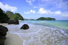 Ang-läderrem öarna i Thailand Royaltyfri Bild