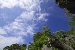 Ang-läderrem öarna i Thailand Royaltyfri Foto