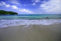 Ang-läderrem öarna i Thailand Arkivbild