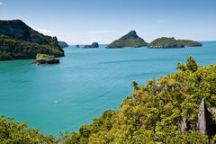 ANG-Lanière la belle île, Thaïlande Images libres de droits