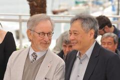 Ang Lee, Steven Spielberg Fotos de archivo