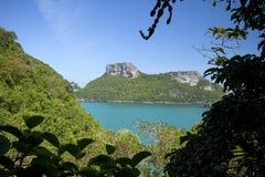 ANG-leren riem de eilanden in Thailand Stock Afbeeldingen