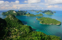 Ang paska park narodowy, Tajlandia Obraz Stock