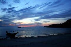 Ang paska plaży wschód słońca Obraz Stock
