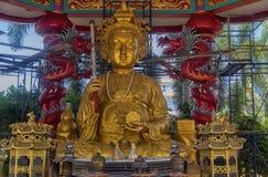 Ang Sila Chinese Temple o Wihan Thep Sathit Phra Kitti Chaloem fotografía de archivo libre de regalías