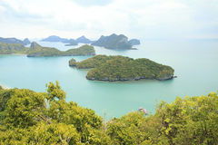 Ang thong island samui in Thailand Royalty Free Stock Photo
