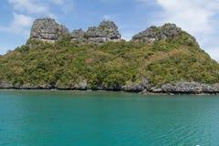 Ang Thong Marine National Park Royaltyfria Bilder