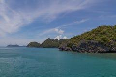 Ang Thong Marine National Park Royaltyfri Bild