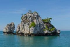 Ang Thong Marine National Park Royaltyfri Foto