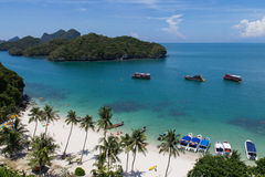 Ang Thong Marine National Park Royalty Free Stock Images