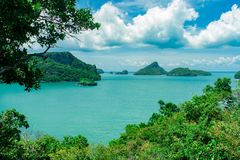 Ang Thong Marine Park national Images libres de droits