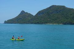 Ang Thong National Marine Park, Koh Samui, Tailandia Immagine Stock Libera da Diritti