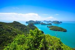 Ang Thong National Marine Park, Tailandia Immagine Stock