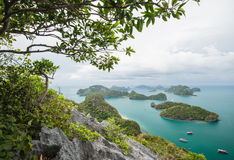 Ang Thong National Marine Park, Tailandia, fotografia stock libera da diritti
