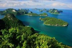 Ang Thong National Marine Park Thailand Arkivbild
