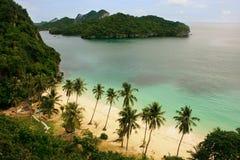 Ang Thong National Marine Park Thailand Arkivbilder