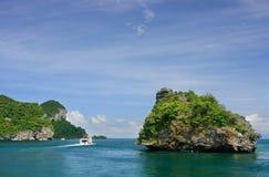 Ang Thong National Marine Park Thailand Fotografering för Bildbyråer