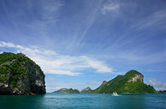 Ang Thong National Marine Park, Thailand Royalty Free Stock Image
