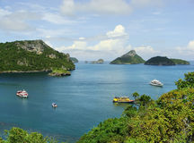 Ang Thong National Marine Park Thailand Arkivfoton