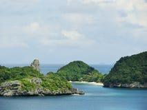 Ang Thong National Marine Park Thailand Royaltyfri Foto