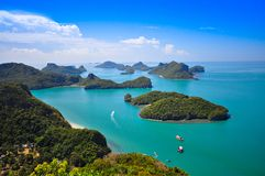 Ang Thong National Marine Park, Thailand Royalty Free Stock Photo