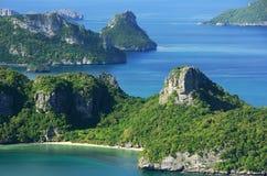 Ang Thong National Park Thailand Royaltyfria Bilder